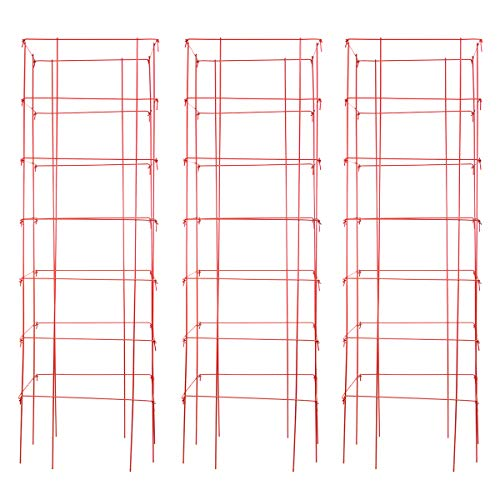 Burpee Extra Large Heavy Gauge Red Tomato Cage | 3