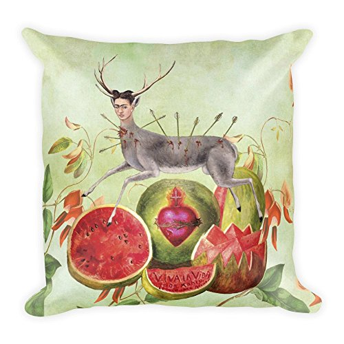 Amazon.com: Frida Kahlo – Pintura Collage decorativo Throw ...