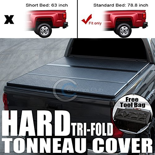 Velocity Concepts Tri-Fold Hard Tonneau Cover Tool Bag 07-16 Tundra Crewmax/Extended Crew 5.5'/66'