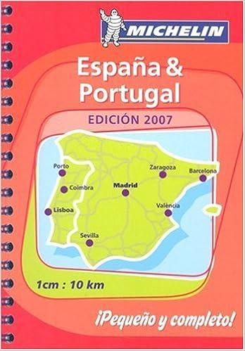 Spagna & Portogallo. Miniatlante stradale 1:100.000: Atlas De Carreteras Michelin Tourist and Motoring Atlases: Amazon.es: Michelin Travel Publications: Libros en idiomas extranjeros