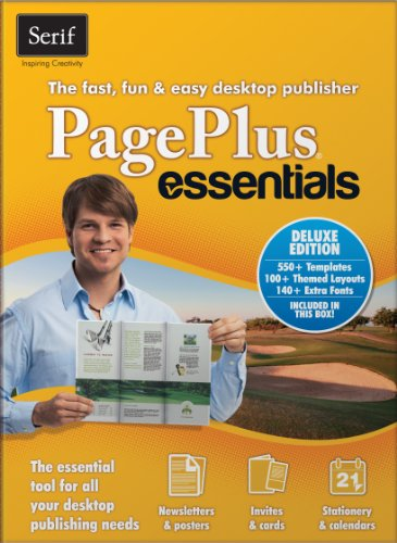 Serif PagePlus Essentials Deluxe [Download] (Home Flyer Essentials)
