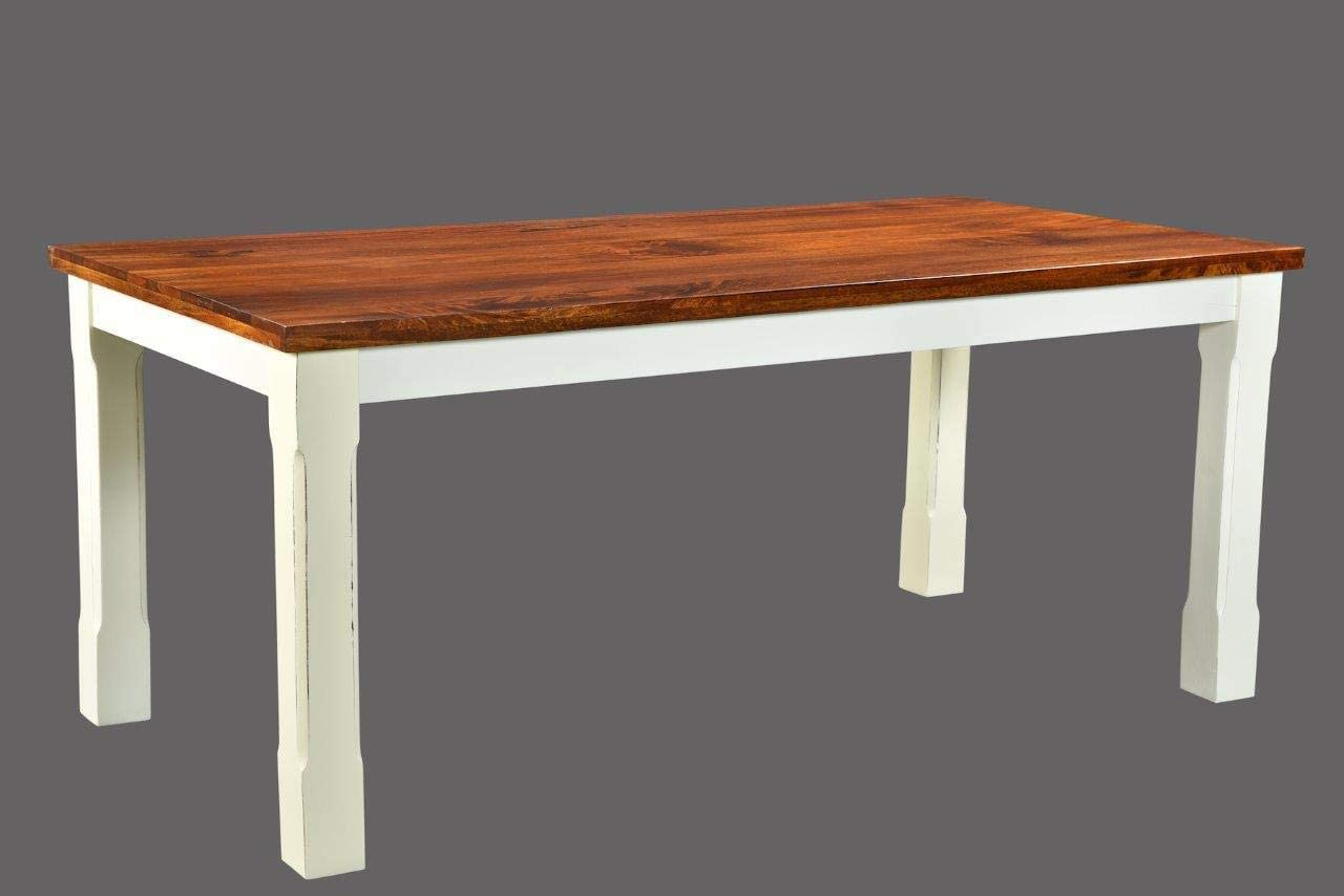 Timbergirl Mysore Farmhouse Chic Table-60 dining table