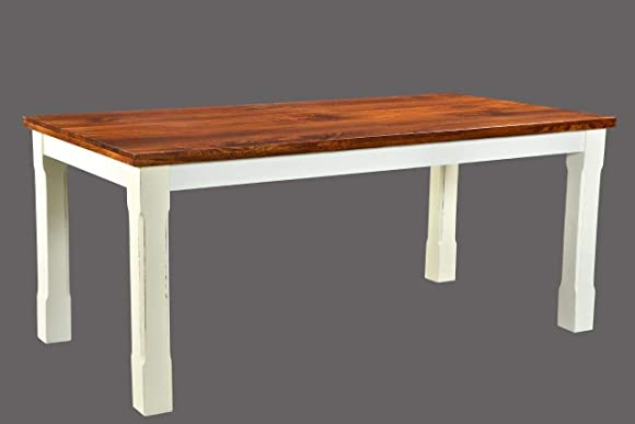 Timbergirl Mysore Farmhouse Chic Table-60″ dining table