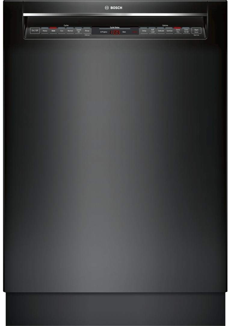 Bosch 800 Series SHE878WD6N Black Dishwasher