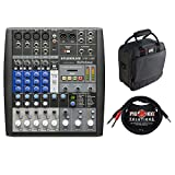 #9: PreSonus StudioLive AR8 USB 8-Channel Hybrid Performance and Recording Mixer with G-MIXERBAG-1212 Mixer/Equipment Bag & PB-S3410 3.5 mm Stereo Breakout Cable, 10 feet Bundle