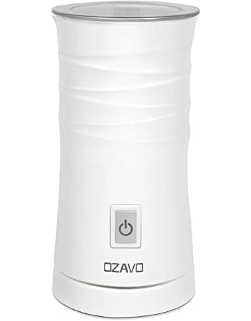Espumador Leche Eléctrico, OZAVO Espumador/Batidor de leche Automático, 500W, 115ML/