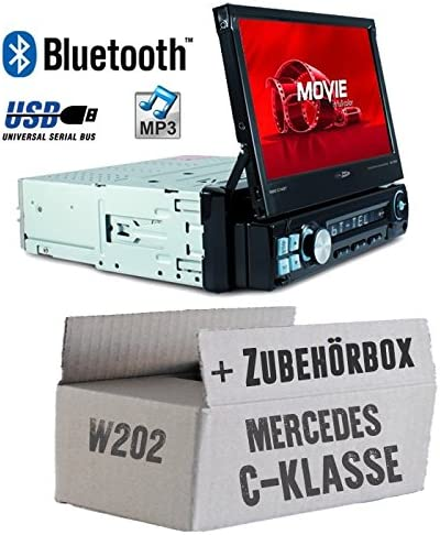 Autoradio Sony BluetoothDAB cd//mp3//usb kit installazione auto per Mercedes C w202