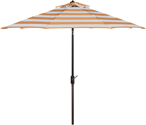 Safavieh PAT8004C Outdoor Collection Iris Fashion Line Auto Tilt Umbrella