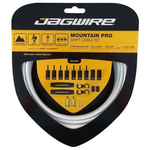 Jagwire Mountain Pro Shift Kit, White (Direct Shift)
