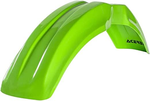 Acerbis Front Fender Green for Kawasaki KX80 1990-2000