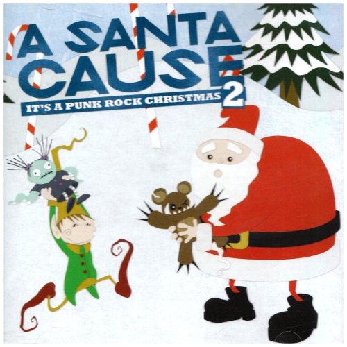Santa Cause Punk Rock Christmas