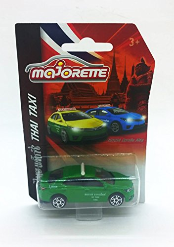 WitnyStore Thai Taxi Car Green Model Toyota Majorette Diecast Limited Toys kid gift by WitnyStore