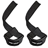 Lifting Straps For Powerlifting, Weightlifting, Bodybuilding - Unisex, Protect Wrists and Hands, Padded, Cotton - Protect Wrists and PR - 100% Guaranteed Warranty