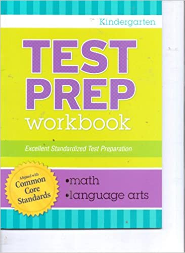 Amazon.com: Kindergarten Grade Math & Language Arts Test Prep ...