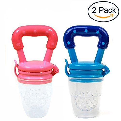 Silicone Baby Feeder Feeding M (Blue) - 5