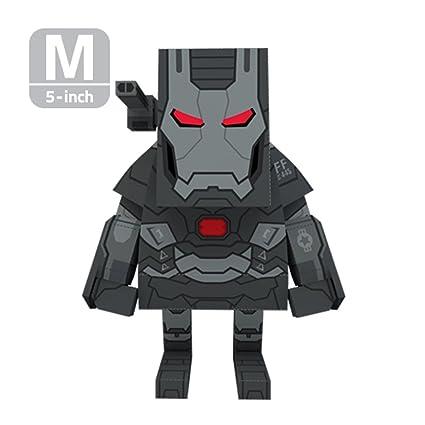 amazon com momot paper craft toy marvel iron man 3 war machine 5