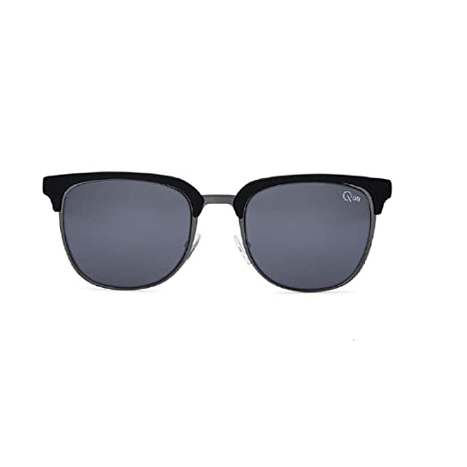 6724094d1f5b3 Amazon.com  Quay Men s Flint Sunglasses (Matte Black