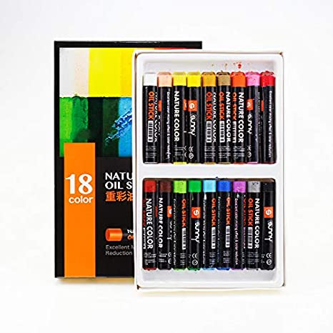 Oil Pastel -12/18/24 Color Crayon en polvo para niños Art ...