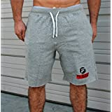 Gym Shorts Sweatshorts   Bodybuilding Pants Joggers Gym Pants Gym Sweat Gray X-Large