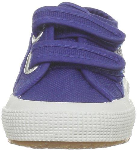 Superga 2750- JVEL CLASSIC S0003E0, Unisex - Kinder Sneaker, Blau (G88 Intense Blue), 32 EU (13 UK)