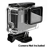 Oumers Waterproof Diving Case for GoPro Hero(2018) Hero5 Black GoPro Hero6 - Replacement Waterproof Housing Cover - Protective Case - 45M Underwater Diving Swimming - Camera Accessories