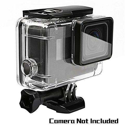 Oumers Waterproof Diving Case for GoPro Hero(2018) Hero5 Black GoPro Hero6, Replacement Waterproof Housing Cover, Protective Case, 45M Underwater Diving Swimming, Camera Accessories -
