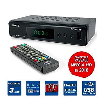 decodeur TDT Grabador reproductor multimedia TV tele Television ...