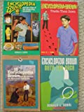 Encyclopedia Brown Set (Case of the Mysterious Handprints, Case of the Disgusting Sneakers, Sets the Pace, Tracks Them Down)