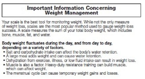 Weight watchers scales by conair body analysis and tracker - How to calibrate a bathroom scale ...