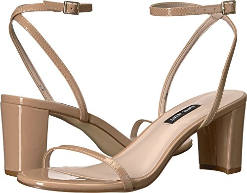 Nine West Womens Provein Block Heel Sandal Light Natural Synthetic recommend online ngjgFKt26y