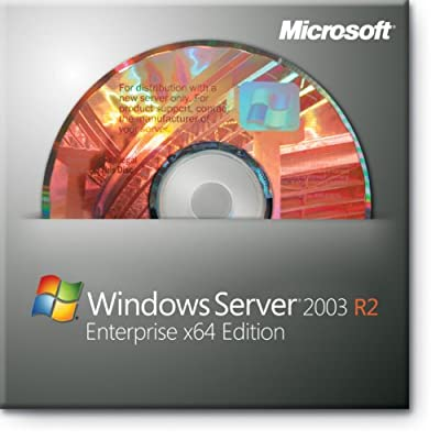 Microsoft Windows x64 Server Standard 2003 R2 SP2 64-bit for System Builders [Old Version]