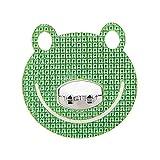 5 Pcs Animal Frog Green Crystal Toothbrush Holder