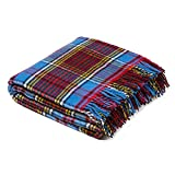 Birchwood Tweedmill Tartan Throw Blanket, Anderson