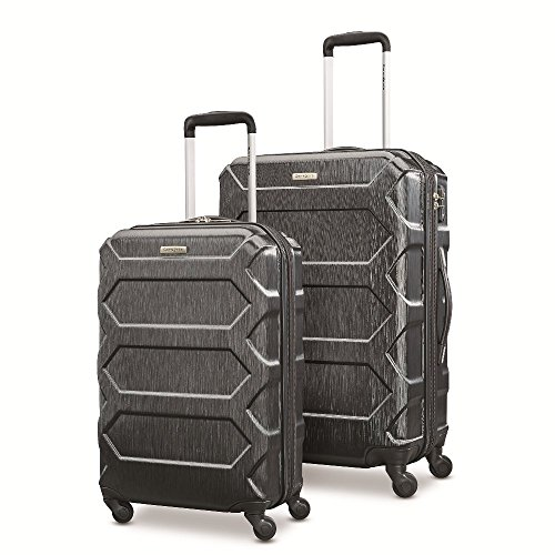 Samsonite Magnitude Lx 2 Piece Nested Hardside Set (20''/24''), Black, Only at Amazon by Samsonite
