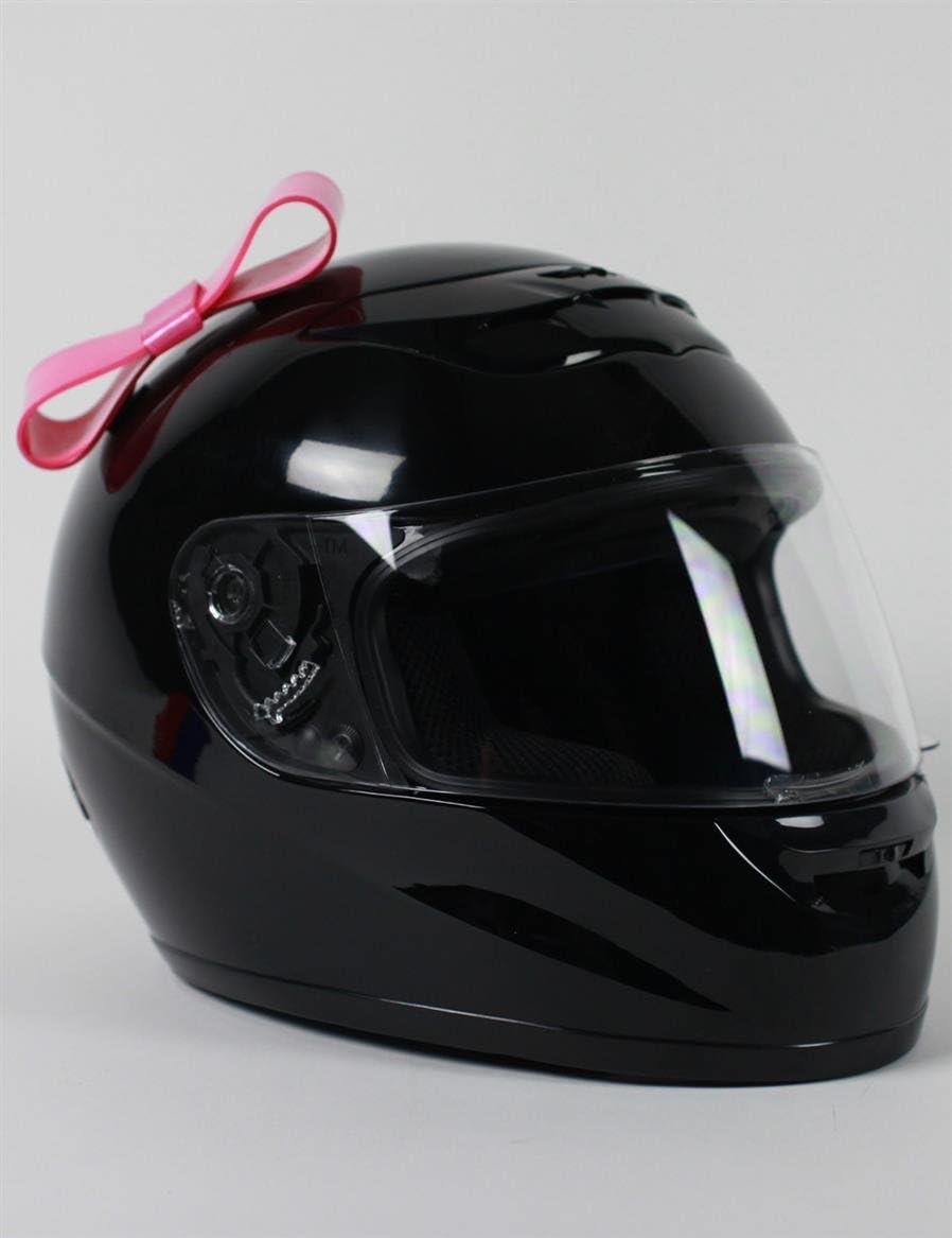 Pink White Red or Blue Stick On Motorcycle Bike Bicycle Biker Helmet Cat Ears