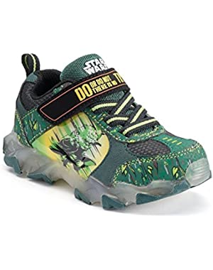 Star Wars Yoda ''There Is No Try'' Boys' Light-Up Athletic Shoes