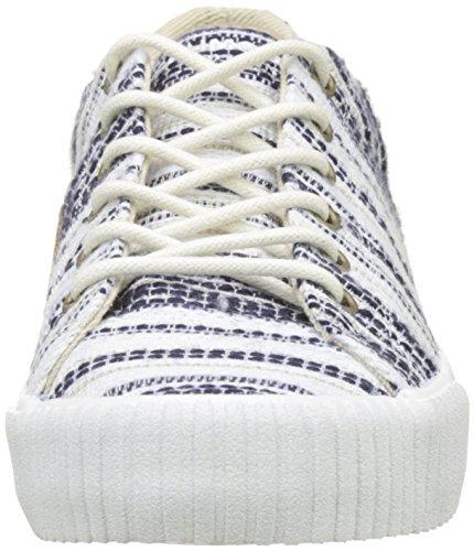 navy Blu Sneaker Tennis Wave 05 Lima Donna Schmoove W A0vHwq6g