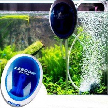Bomba de aire de silencio LEECOM oxígeno del acuario pecera oxígeno de equipo