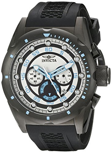 Invicta Men's 20303 Speedway Analog Display Japanese Quartz Black Watch from Invicta
