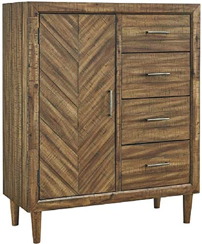 Signature Design by Ashley Broshtan chests-of-drawers, Light Brown
