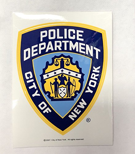 NYPD New York Police Department Offical Licensed Sticker Decal Shield