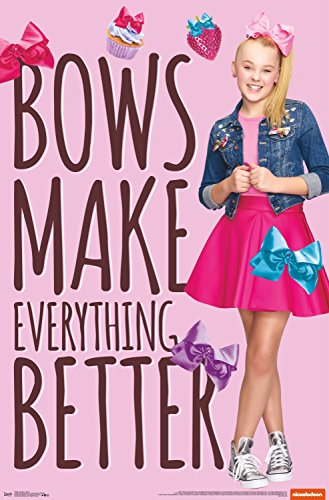 Trends International Jojo Siwa Bows Wall Poster 22.375
