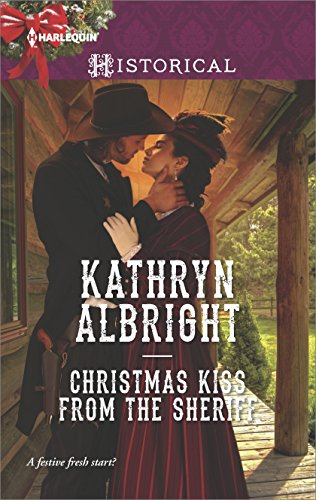 book cover of Christmas Kiss From The Sheriff