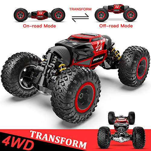 XIXOV Remote Control Car, 1:14 RC Car Vehicle Rock Crawler 2.4Ghz 4WD Remote Control Truck Off Road for Boys (Adult Remote Control Toys)