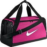 Nike Brasilia (Small) Training Duffel Bag (Pink/Black/White)