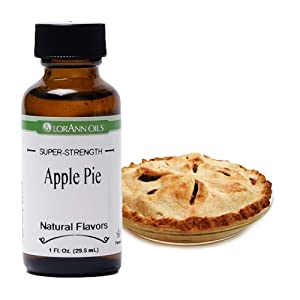 LorAnn Apple Pie Super Strength Favor, 1 ounce bottle