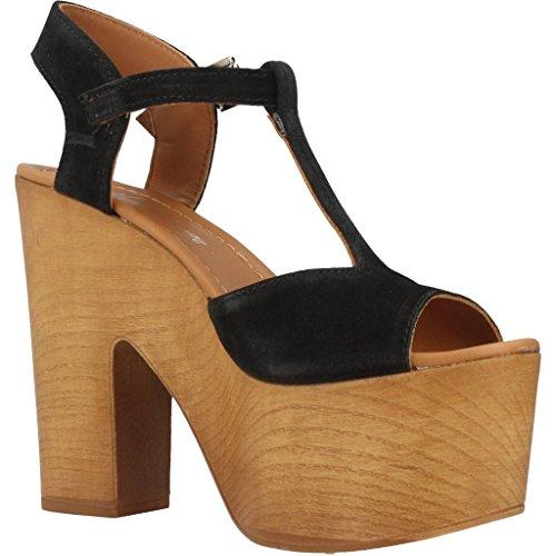 Sandalias y chanclas para mujer, color Negro , marca ALPE, modelo Sandalias Y Chanclas Para Mujer ALPE STAN SMITH LEA SOCK Negro Negro