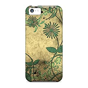 Premium Japanese Flowers Back Covers Snap On Cases For Iphone 5c