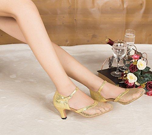 Miyoopark - salón mujer Gold-6cm heel