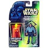 Star Wars POTF Lando Calrissian RARE GREEN CARD